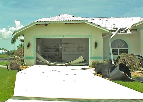 Which Garage Door Parts Are Damage-Prone During Hurricanes