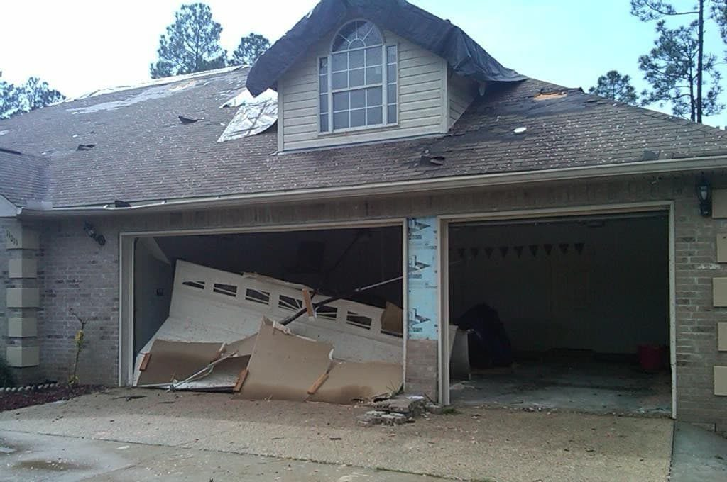 hurricane-Garage door