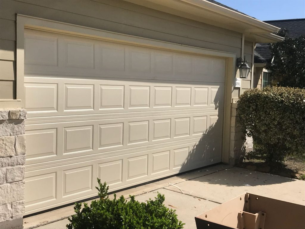 New_garage_door_installation