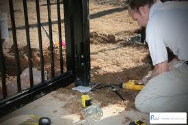 gate instalation