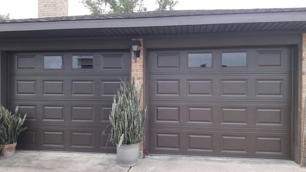 2_doors_steel_garage_painting