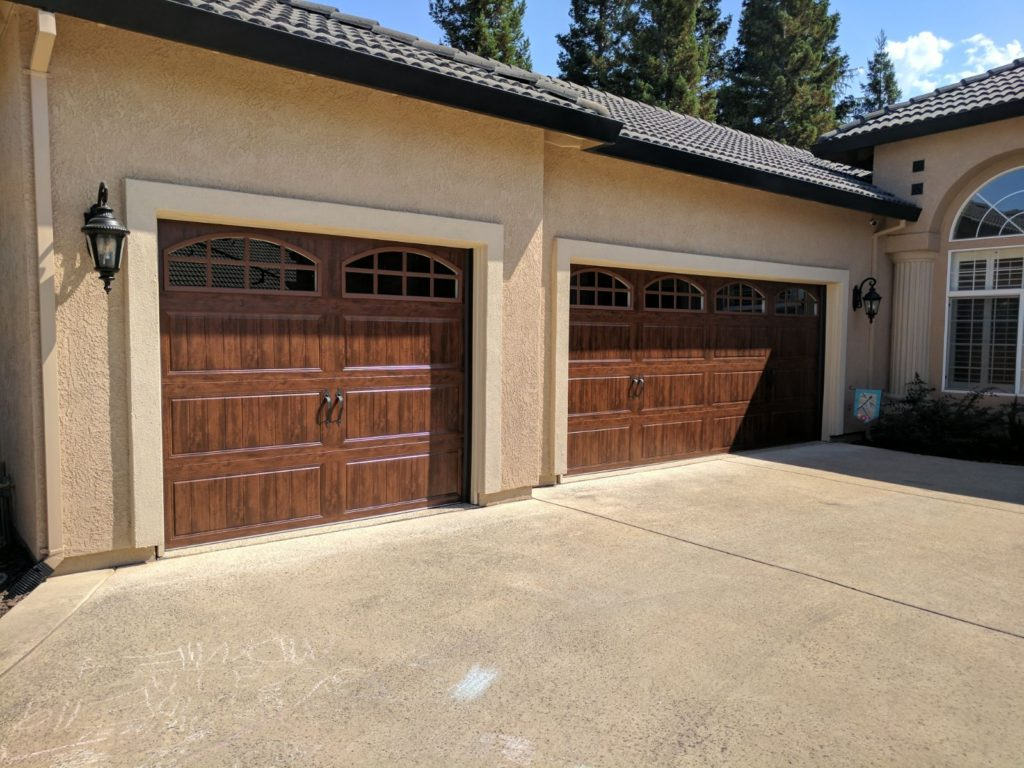wood_double_car_garage_door_houston