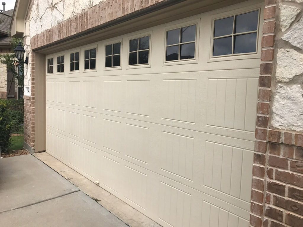 long-panel-garage-door-houston