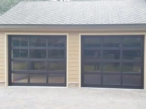2_car_glass_garage_door