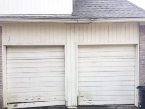 2garagedoorsinto1-before