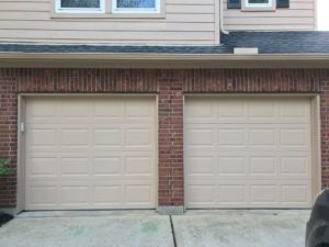 garage door service and repair houston