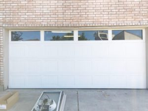 garage door with wondows houston tx