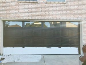 garage door painting service Houston