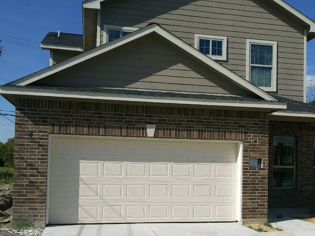Double Garage Door Sizes (Two Cars)