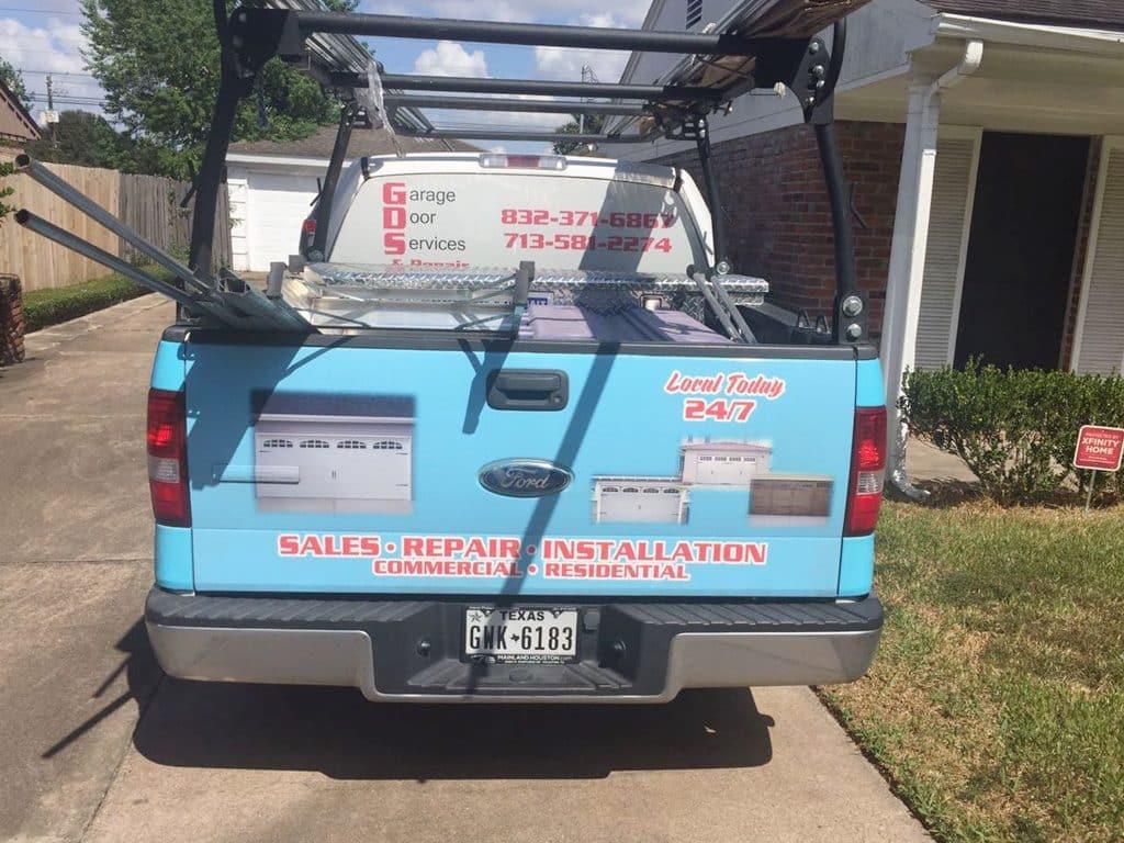 gds service truck back