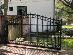 automatic_swing_metal_gate