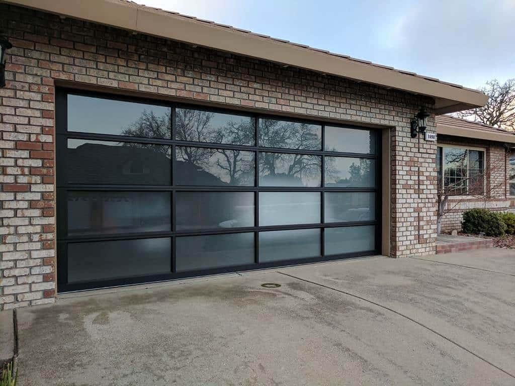 glass garage doors for houses Houston